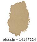 岩手県地図 14147224