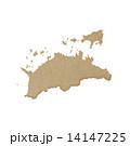 香川県地図 14147225