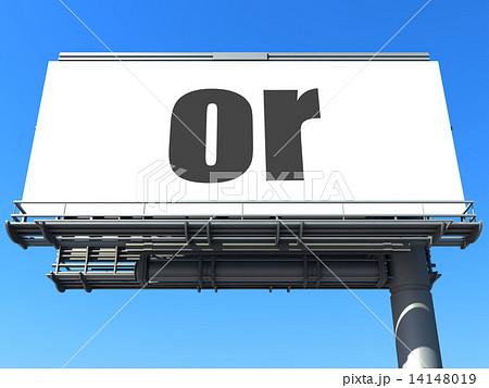 word on billboard 14148019