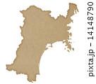 宮城県地図 14148790