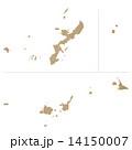 沖縄県地図 14150007