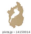 滋賀県地図 14150014