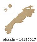 島根県地図 14150017