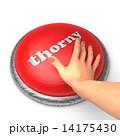 釦 手 押すのイラスト 14175430