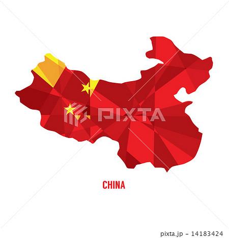 Map of China 14183424