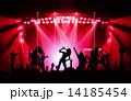 ロックのライブステージ 14185454