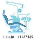 歯 患者 病院のイラスト 14187485