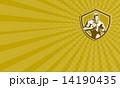 ラグビー フットボール 男のイラスト 14190435