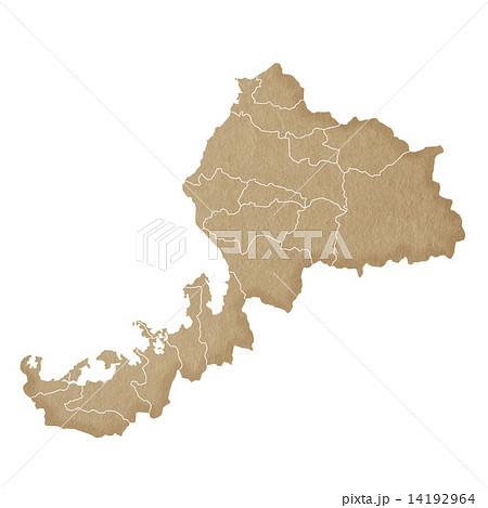 福井県地図 14192964