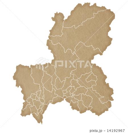 岐阜県地図 14192967