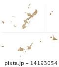 沖縄県地図 沖縄 地図のイラスト 14193054