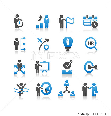 Business human resources icon 14193819