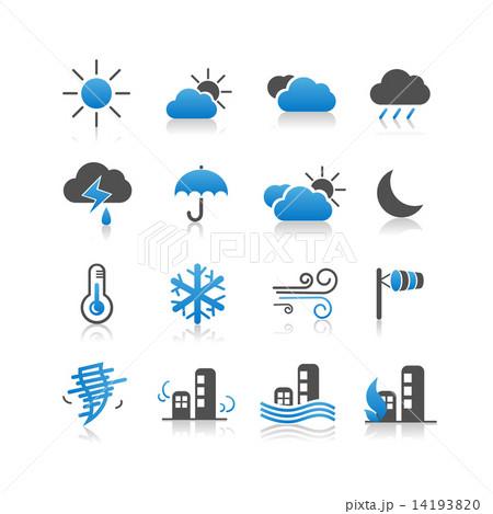Weather icon set 14193820