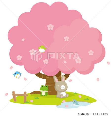 桜の木の下で 14194169