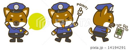 はたらく犬。犬の警察官 14194291