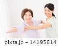 フィットネス 指導 女性の写真 14195614