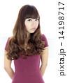 髪型 ウェーブヘアー 人物の写真 14198717