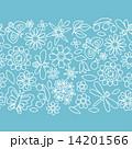 花 オーナメント 装飾のイラスト 14201566