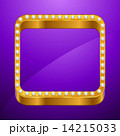Abstract background with gold frame and jewels. 14215033