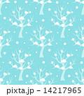 冬 シームレス 柄のイラスト 14217965