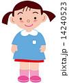 子供 園児 女の子のイラスト 14240523