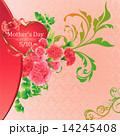 ベクター 母の日 花のイラスト 14245408