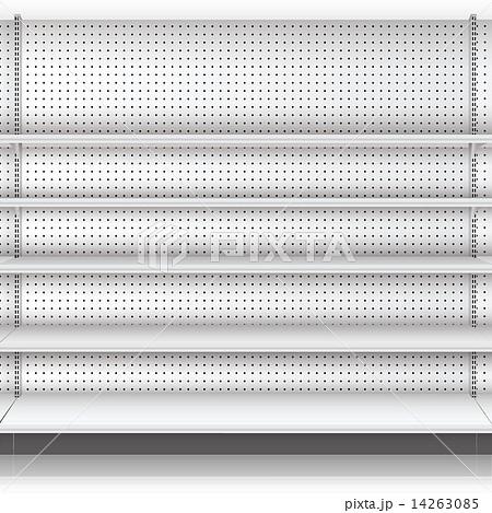 Supermarket shelf. Vector. illustration   14263085