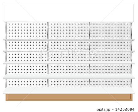 Supermarket shelf. Vector. illustration   14263094