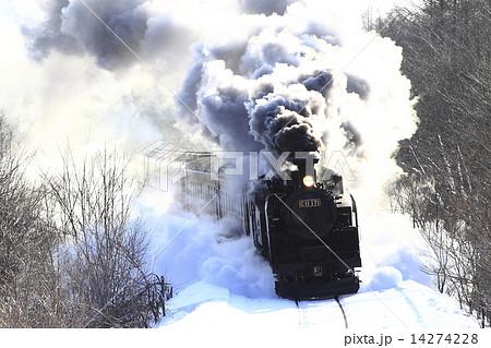 冬の釧網本線SL 14274228