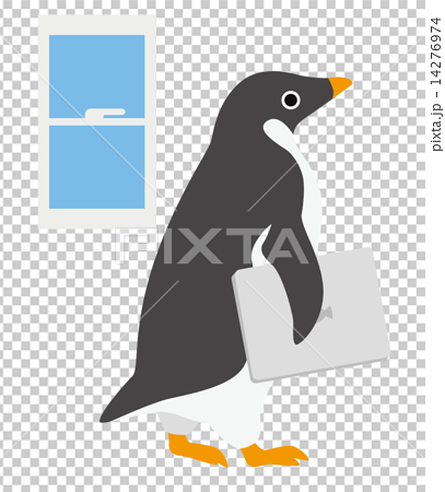 アデリーペンギン ノートパソコン 14276974