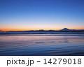 湘南の海と富士山 14279018