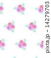 花柄 花模様 花のイラスト 14279703