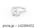 エンゲージ 婚約指輪 ダイアモンドのイラスト 14289452