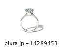 エンゲージ 婚約指輪 ダイアモンドのイラスト 14289453