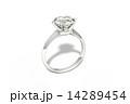 エンゲージ 婚約指輪 ダイアモンドのイラスト 14289454