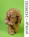 木彫り 多聞天 毘沙門天の写真 14296582