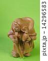 木彫り 毘沙門天 多聞天の写真 14296583