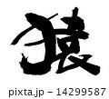 猿 筆文字 14299587