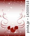 ローズ ベクター 花のイラスト 14300918