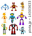 Abstract mechanical robots 14303633