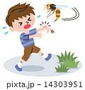 危険 ベクター 子供のイラスト 14303951