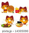 ネコとーく。赤ずきん 食事 14305090