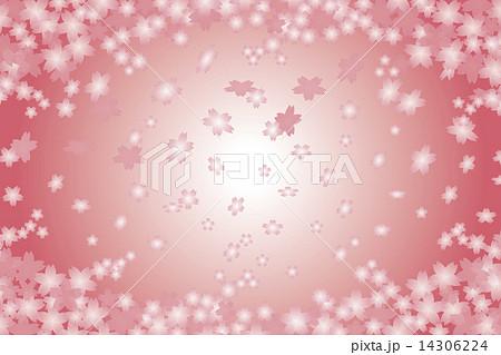 背景素材壁紙 桜 さくら サクラ 桜の花 春 桜吹雪 花びら 桜色 卒業 卒業式 入学 入学式 のイラスト素材