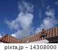 赤瓦 シーサー 沖縄の写真 14308000