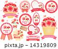 母の日 ベクター 花のイラスト 14319809