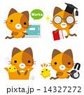 ベクター 三毛猫 ネコのイラスト 14327272