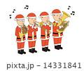 サンタクロースの金管楽団 14331841