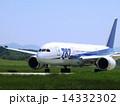秋田空港 旅客機 航空機の写真 14332302
