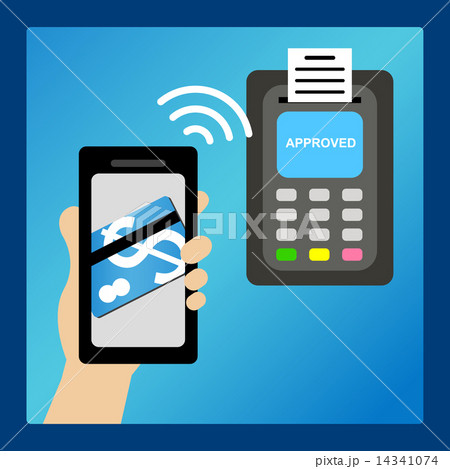 Pay money by smart phone 14341074