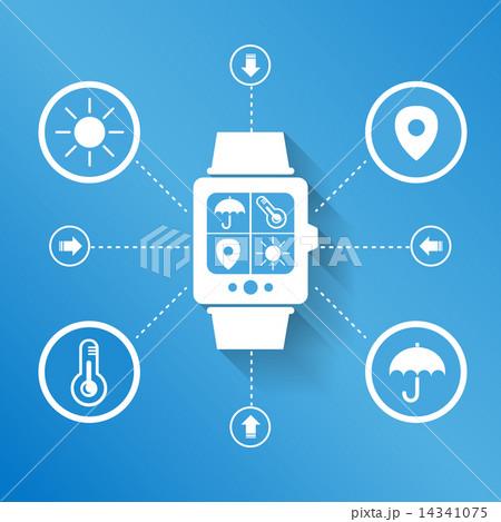 Smart watch wearable device 14341075